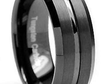 Black Tungsten Dual Raise Design