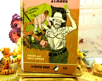 Vintage Puffin Book Paperback The Black Symbol Gold Rush in America 1960s by John Robb First Edition