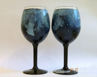 Space Wine Glasses