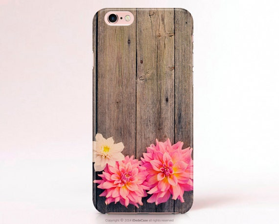 Floral iPhone 6 Plus Case Wood iPhone 7 Plus Case LG G4 Case Samsung S6 Case S4 mini Case Gift for her LG G3 Case Note 4 Case iPhone 7 Case