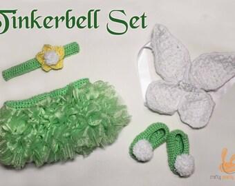 Tinkerbell Tutu Set