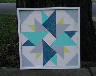 "20"" Custom, Hand-Painted Barn Quilt Blocks"