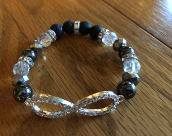 Infinity Essential Oil Diffuser Bracelet