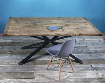 FraaiBerlin table made of lumber Britta 180 x 95 cm