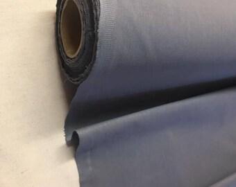 Tissu uni Gris 100% coton