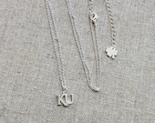 KU Silver Necklace