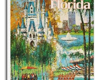Art Florida Travel Poster Print Gift Hanging Wall Decor xr560