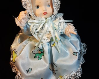 Vintage Small Porcelain Doll