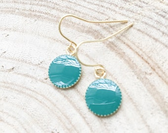 Gaia Cobalt PM earrings