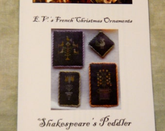 Clearance!!  E.V.'s French Christmas Ornaments
