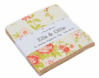 Ella & Ollie Charm Pack by Fig Tree for Moda Fabrics