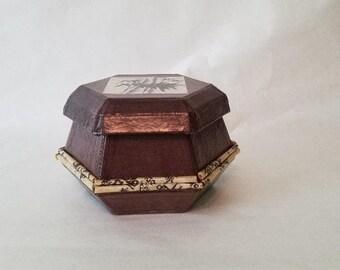 PSB-H05: Old Jar looking Jewelry Box