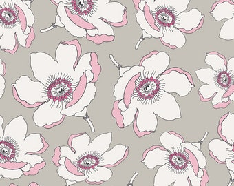 Plummet Magnolia CHE-8808 - CHERIE by Frances Newcombe - Art Gallery Fabrics  - By the Yard
