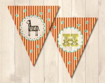 Carnival Themed <Birthday DIY Kit> Digital File