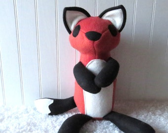 Orange Fox, Plush Fox, Fox Doll