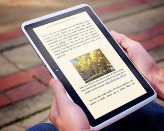 Self-Publishing eBook formatting for Kindle, iBooks, Google Play, Kobo, any format you need