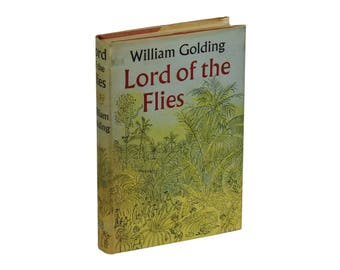 Lord of the Flies by WILLIAM GOLDING ~ First Edition 1954 ~ 1st British Printing ~ Original 1st State Dust Jacket