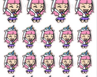 Lola - JUMPING/YAY Planner Stickers