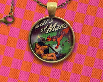 Lars of Mars Super Hero Comic Cover Pin, Magnet, Keychain, or Necklace