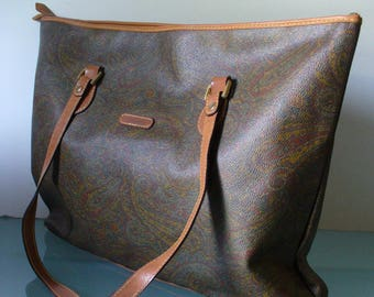 I Santi Made in Italy  Paisley Tote Bag