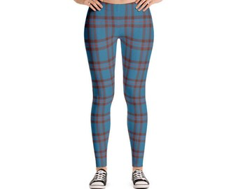 Custom Tartan Plaid Scottish Leggings