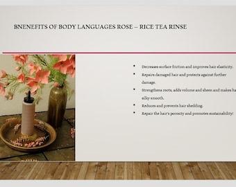 Rose - Rice Tea Rinse