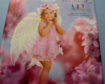 Simplicity 8833 Angel Costume sizes 1/2 to 4 Uncut