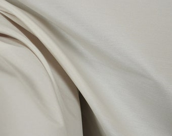 Aviana White Polyester Faux Silk Fabric