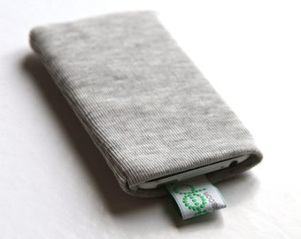 iphone sock - light grey
