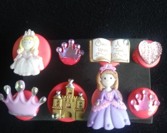 Princess Push Pins