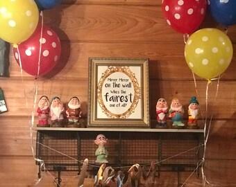 Seven Dwarfs Figurines