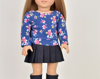 Pullover 18 inch doll clothes