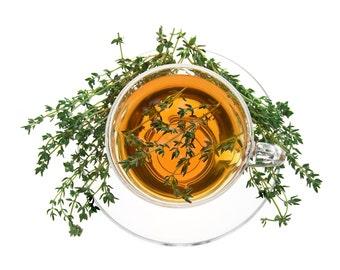Tea Moroccan Mint Green Loose Leaf Hand Blended Tea 4 ounces