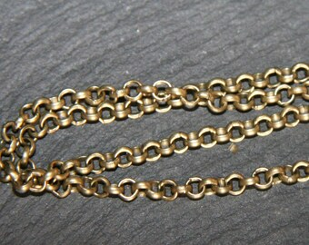 x5metres S068 color alloy chain bronze round link 2, 5 x 2, 5mm