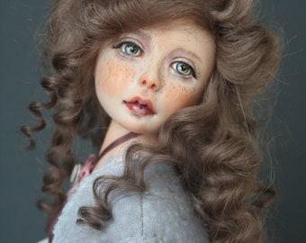 """OOAK art doll """"Loanne"""""""