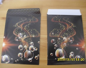 set of 10 gift bags Christmas 16X11cm ball