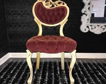 French Provincial Side Chair