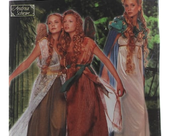Simplicity 9454 Sewing Pattern Misses' Fairy Costumes Sizes 6-12 / Andrea Shewe / Halloween / cosplay / pixie / elf / wings / women / ladies