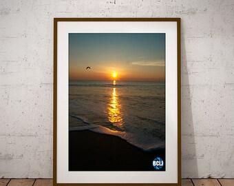 Sunrise 1 - nature photography, landscape photography, sunrise, beach photography