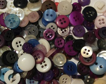200 Colored Mixture of Heinz 57 Buttons - #SDSP-00028