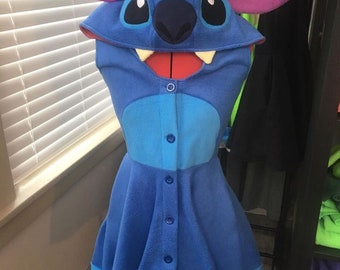 Stitch Kigurumi Dress