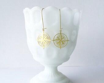 Compass Earrings | ATL-E-112