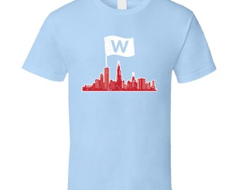Chicago Cubs Light Blue Tshirt