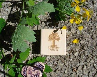 Tree of life stamp customizable TC251