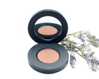 Pinecone Matte Pressed Mineral Eyeshadow - Soft Brown Beige Taupe Makeup