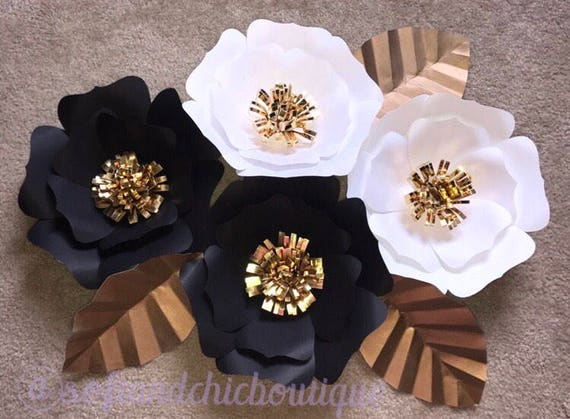 Large Paper Flower Backdrop Wall Decor Nursery Decor