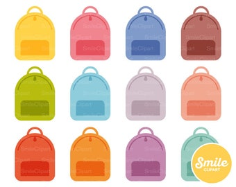 Backpack Clipart Illustration for Commercial Use | 0468