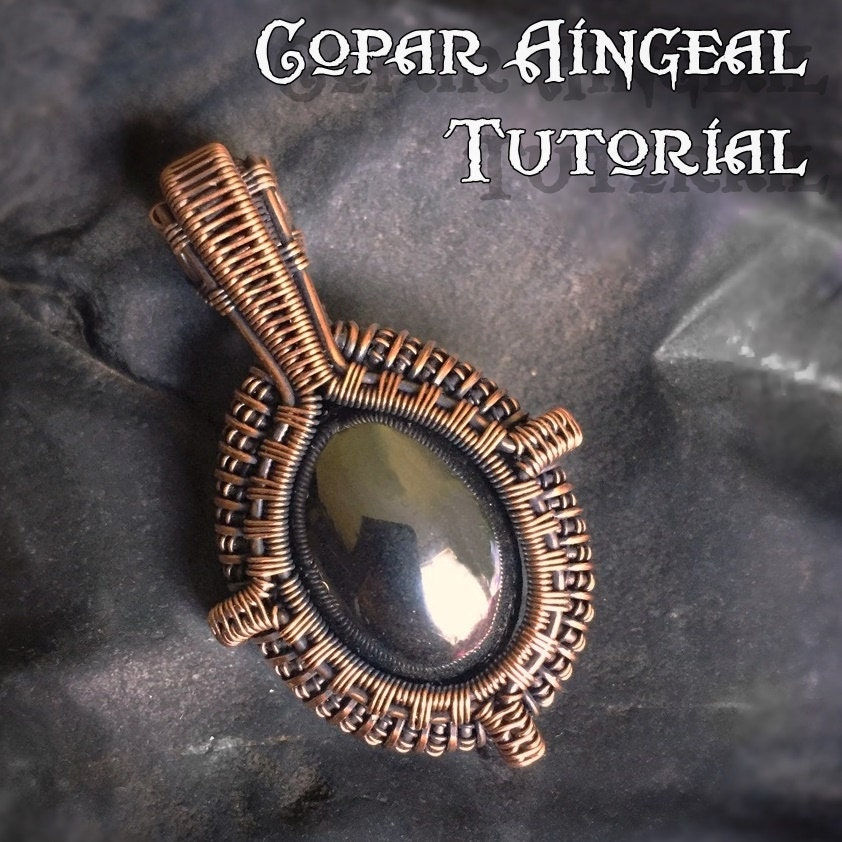 Tutorial Portal Pendant Wire Wrapping Jewelry Pattern