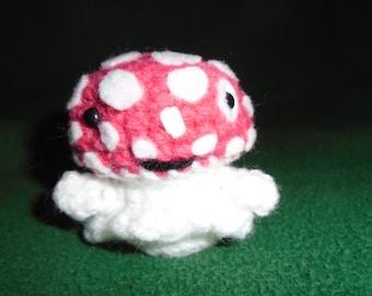 Wish Pal Red Toadstool Amigurumi