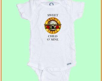 Sweet Child of Mine  Funny baby Onesie